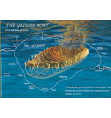 Placemat - Ancient Galilee Boat