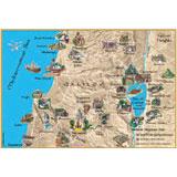 Placemat - Holyland/Galilee