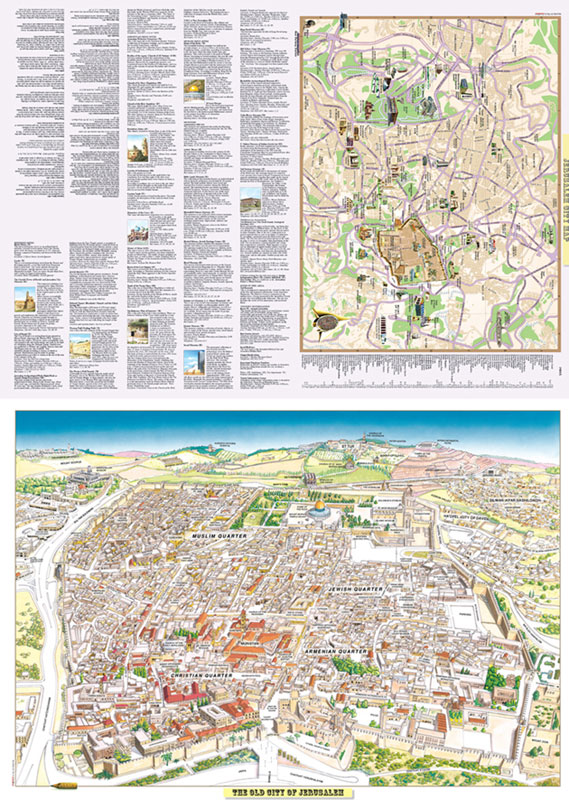 Map - Panoramic Jerusalem